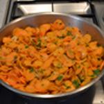 Soupe de carottes Ajouter le persil