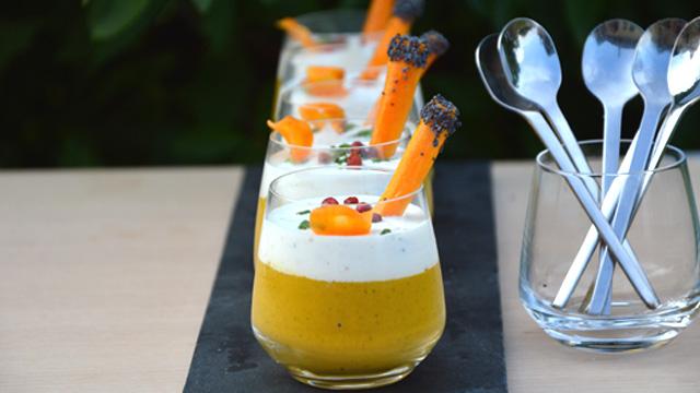 Soupe de carottes Terminer
