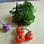 Tartare de tomates Les ingrédients