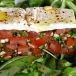 Tartare de tomates Terminer