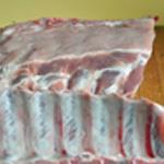 Travers de porc Saler poivrer