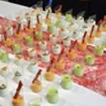 Buffet de verrines Les panna cotta