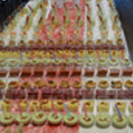 Buffet de verrines Les gaspachos