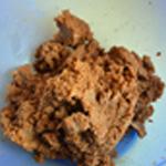 Cheesecake aux framboises Spéculos et beurre