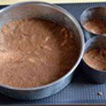 Cheesecake aux framboises Etaller dans le moule