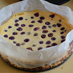 Cheesecake aux framboises Cuire le cheesecake