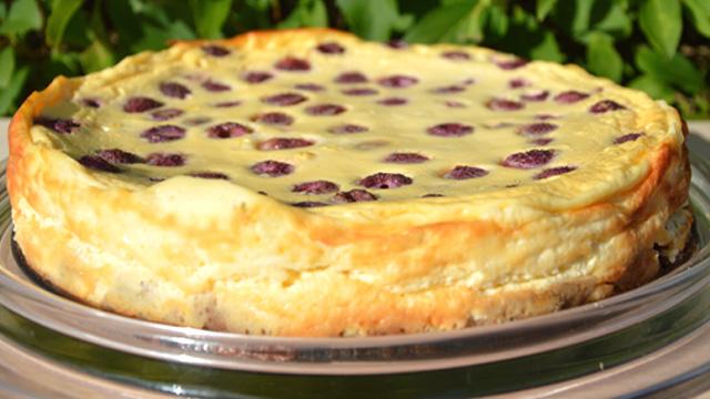 Cheesecake aux framboises Terminer
