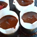 Framboises et chocolat Passer au four
