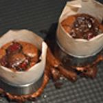 Framboises et chocolat Cuit