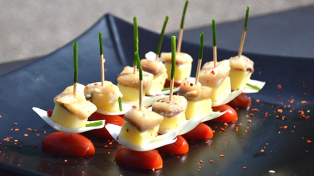 Harengs pomme de terre Terminer