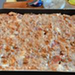 Lasagne Saupoudrer de parmesan