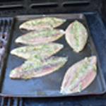Maquereau au barbecue Retourner les maquereaux