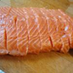 Rillettes aux deux saumons Trancher
