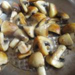 Risotto Saint Jacques Saisir les champignons