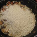 Risotto Saint Jacques Ajouter le riz