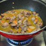 Rognon boeuf et carottes Saisir les rognons