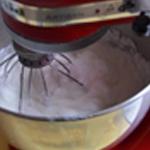 Soufflé au fromage Monter les blancs en neige