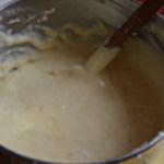 Soufflé au fromage Remuer délicatement