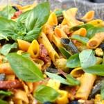 Salade pâtes Terminer