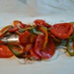 Maquereau à la moutarde Ajouter les tomates