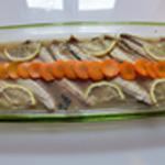 Maquereau au vin blanc Ajouter les carottes