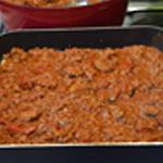 Moussaka Puis viande