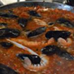 Paella Ensuite cuire les moules