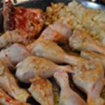 Griller les cuisses de poulet