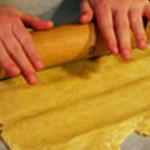 Pâté en croute de faisan Etaler la pâte