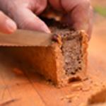 Pâté en croute de faisan Trancher le pâté