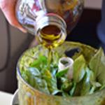 Pesto basilic et parmesanAjouter de l'huile