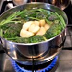 Purée aux légumes Cuire les légumes