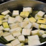 Purée aux légumes Ajouter les courgettes