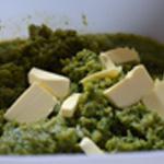 Purée aux légumes Plus ou moins de beurre