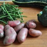 Purée aux légumes Les légumes