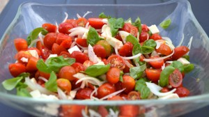 Recette de Salade de tomates cerise