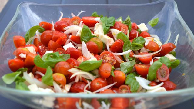 Salade tomates cerise Terminer