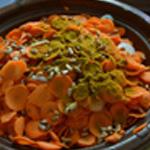 Tajine de carottes Ajouter les épices