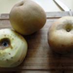 Cheesecake aux pommes Eplucher les pommes