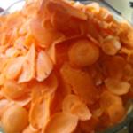 Baeckeofe de veau Couper en lamelles les carottes