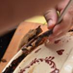 Baeckeofe de veau Après cuisson casser le joint farine