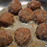 Boulette de veau Cuire les boulettes