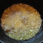 Cancoillotte au beurre Ajouter l'eau