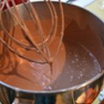 Cheesecake au chocolat Battre
