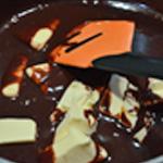 Cheesecake au chocolat Ajouter le beurre