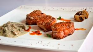 Recette de Filet de porc aux sésames