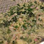 Mignon aux cèpes Saisir échalotes et persil