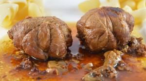Paupiette de veau aux cèpes Terminer