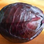 Potage au chou rouge Supprimer les premières feuilles