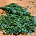 Soupe courgette et chorizoRincer puis ciseler le persil